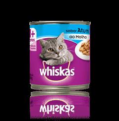 Alimento Úmido Whiskas Lata Pedaços