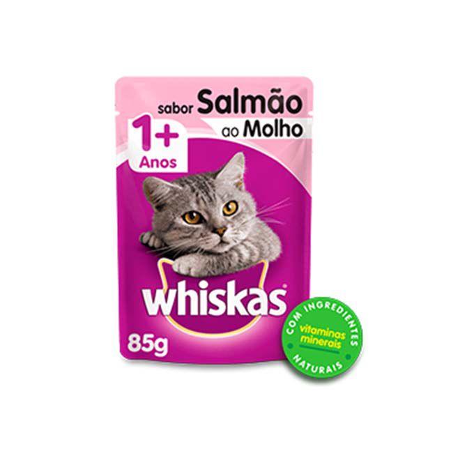 Alimento Úmido Whiskas para Gatos Adultos