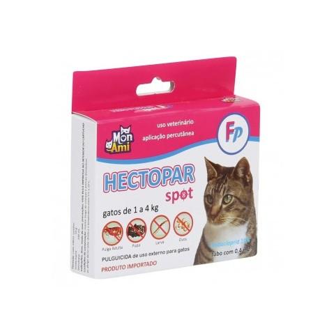 Antipulgas Hectopar 0,4ml para Gatos de 1 a 4kg - 1 Pipeta