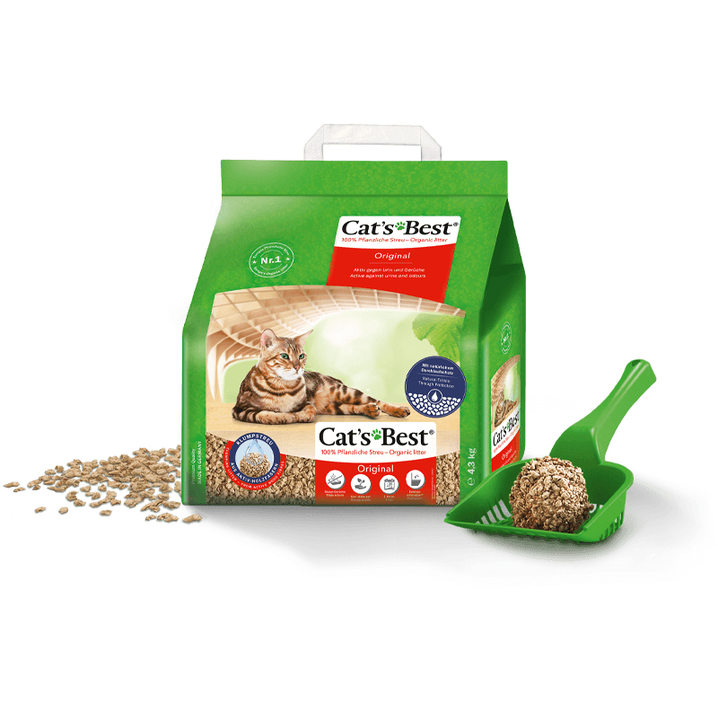 Areia Higiênica Cats Best Original para Gatos