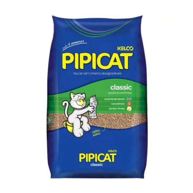 Areia para Gatos Pipicat Classic Kelco