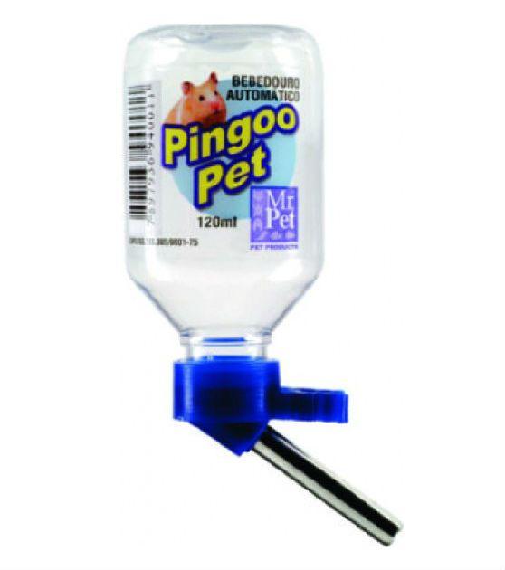 Bebedouro Automático Plástico Pingoo Pet Inox