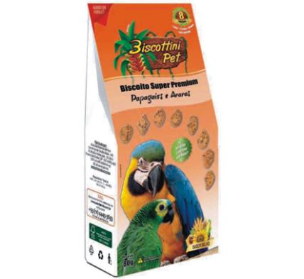 Biscoito para Papagaio e Araras Sabor Milho