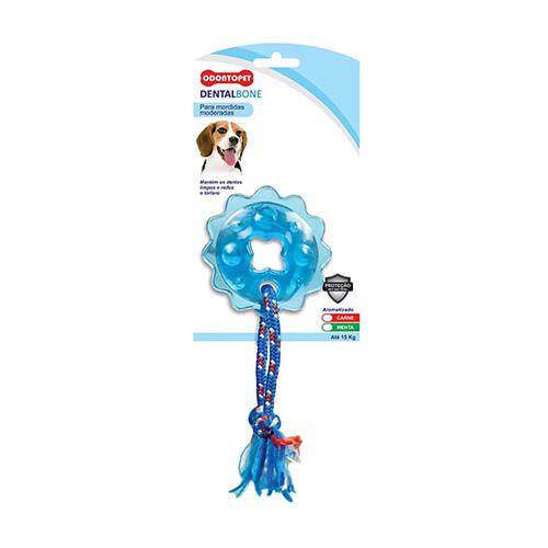 Brinquedo Dentalbone Estrela com Corda Odontopet