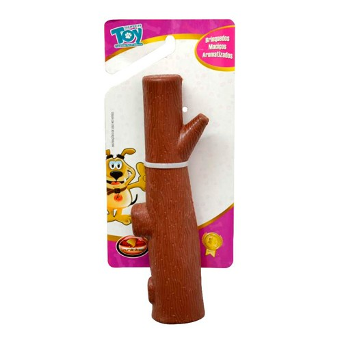 Brinquedo Galho Borracha Maciço Furacão Pet