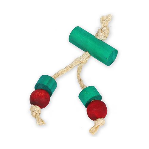 Brinquedo Golden Roe Cereja para Roedores