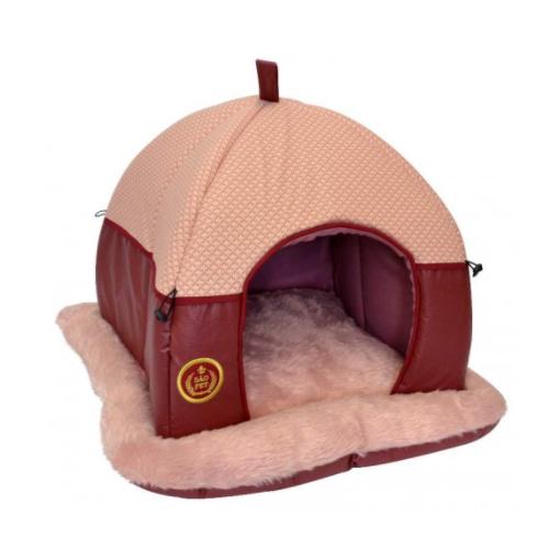 Cama Tenda Luxo para Cães e Gatos São Pet