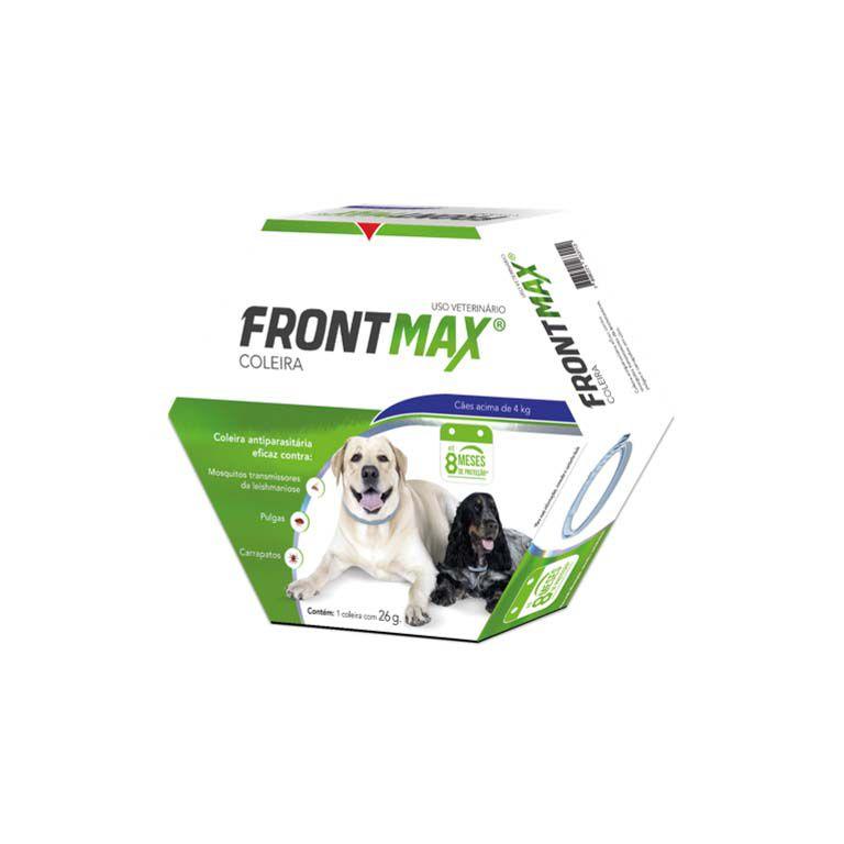 Coleira Antiparasitária Frontmax para Cães Acima de 4 Kg - 26g
