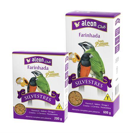 Alimento Completo para Aves Alcon Farinhada Super Premium Silvestre
