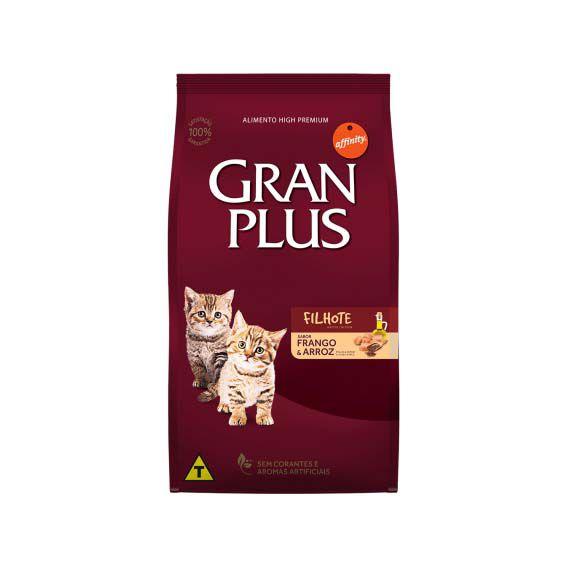 Ração Gran Plus Gato Filhote Frango e Arroz