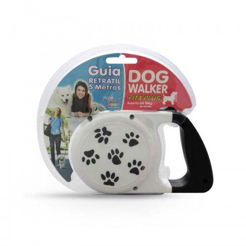 Guia Retrátil Fita Plus Dog Walker
