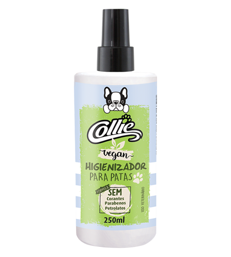 Higienizador de Patas Collie Vegan