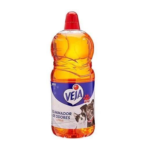 Limpador Veja Pets Eliminador de Odores Citrus 1L