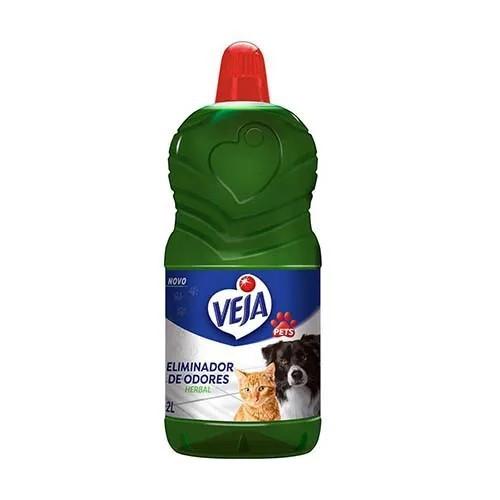 Limpador Veja Pets Eliminador de Odores Herbal 1L