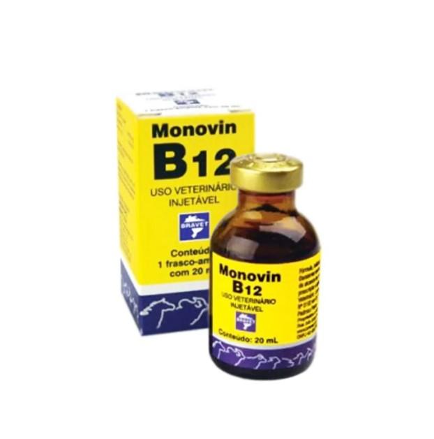 Monovin B12 Injetável Bravet 20ml