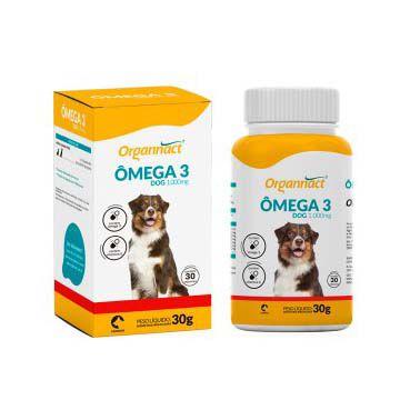Organnact Ômega 3 Dog 1000mg