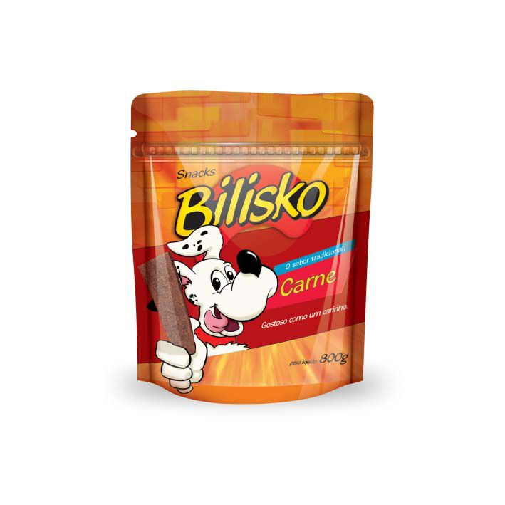 Petisco Bilisko Bifinho Carne para Cães