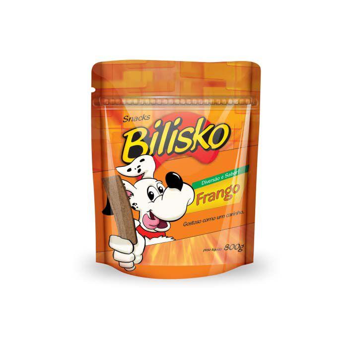Petisco Bilisko Bifinho Frango para Cães