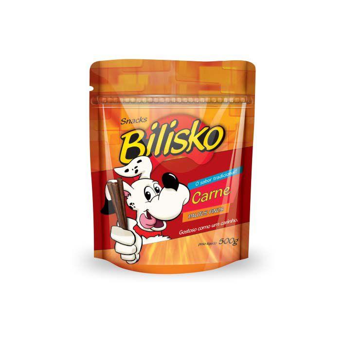 Petisco Bilisko Palitos Finos Carne para Cães
