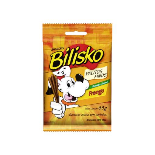 Petisco Bilisko Palitos Finos Frango para Cães