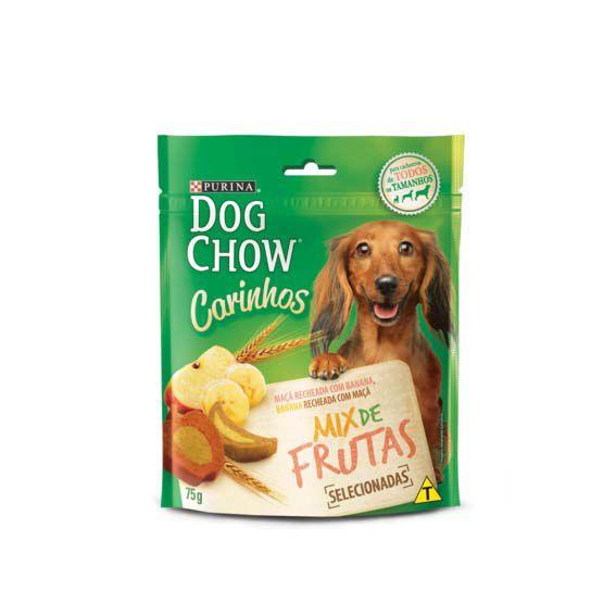 Petisco Dog Chow Carinhos Mix de Frutas