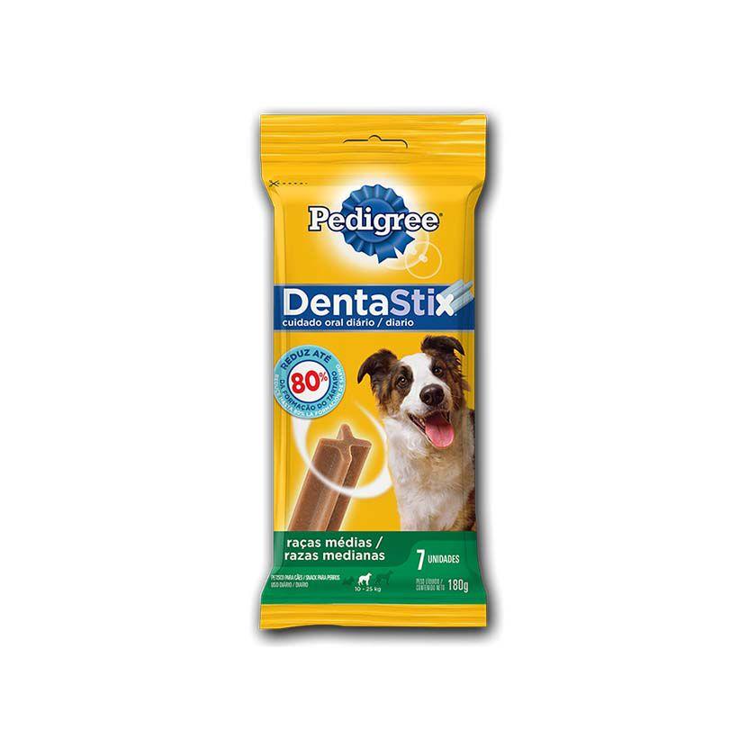 Petisco Pedigree Dentastix Cuidados Orais Cães Adultos Raças Médias