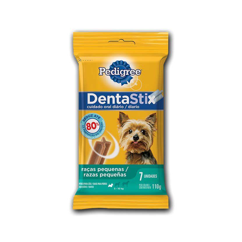 Petisco Pedigree Dentastix Cuidados Orais Cães Adultos Raças Pequenas
