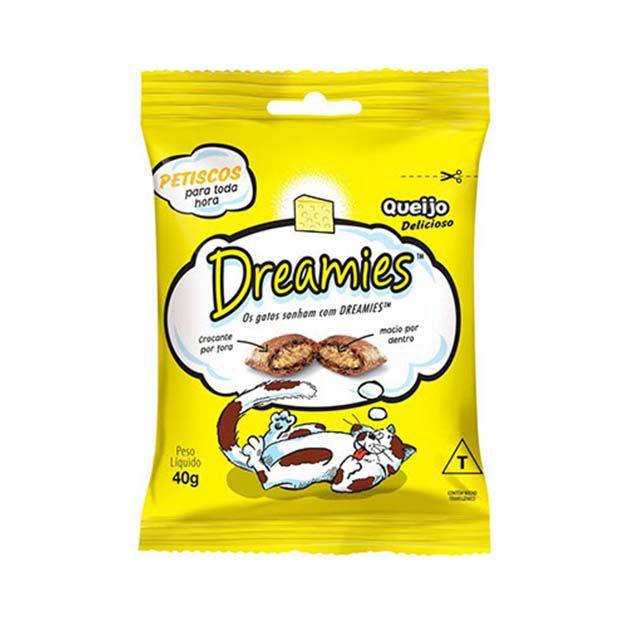 Petisco Snacks Dreamies Queijo