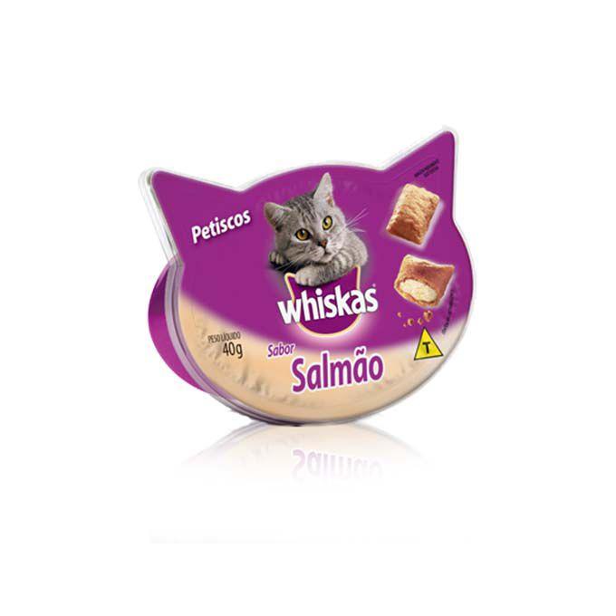 Petisco Whiskas Temptation Salmão