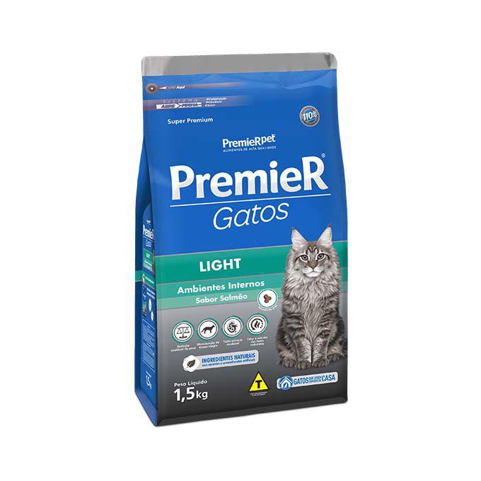 Ração Premier Gatos Adultos Light