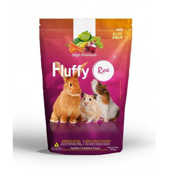 Ração Fluffy Roedores High Premium
