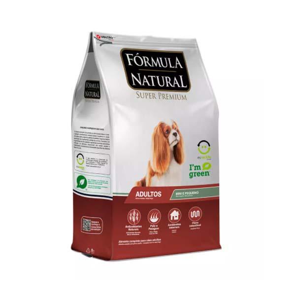 Ração Fórmula Natural para Cães Adultos Raças Mini