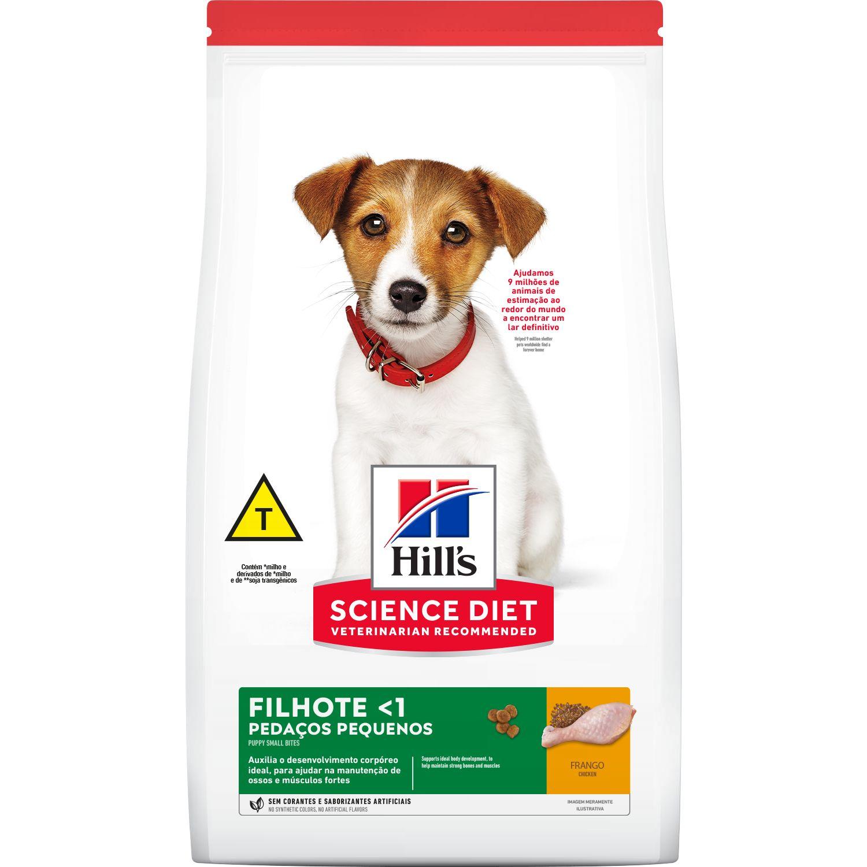 Ração Hills S/D Canino Filhote Pedaços Pequenos
