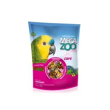 Ração Megazoo Mix Papagaios
