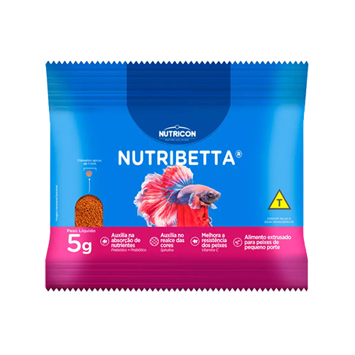 Ração Nutricon NutriBetta 5g
