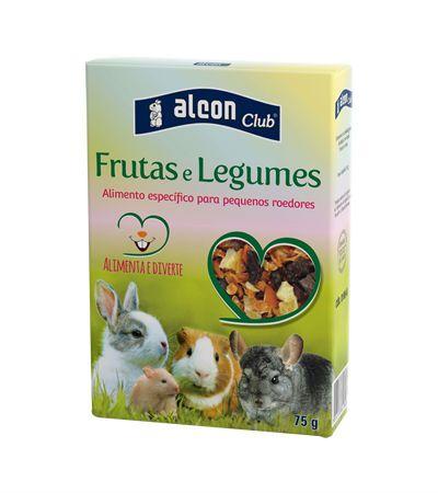 Ração para Roedores Frutas e Legumes Alcon