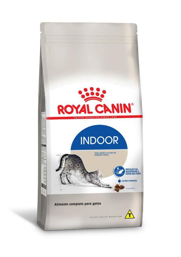 Ração Royal Canin Gatos Indoor