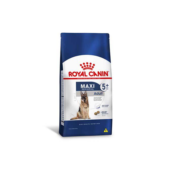 Ração Royal Canin Maxi Adulto 5+