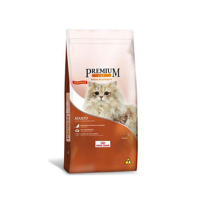 Ração Royal Canin Premium Cat Adultos Beleza da Pelagem