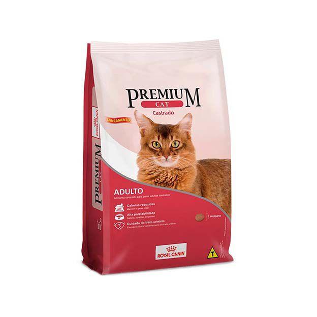 Ração Royal Canin Premium Cat Adultos Castrados