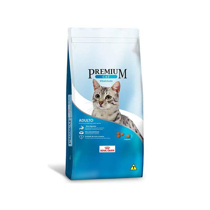 Ração Royal Canin Premium Cat Adultos Vitalidade