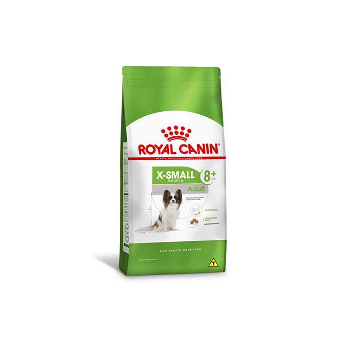 Ração Royal Canin X-Small Adulto 8+