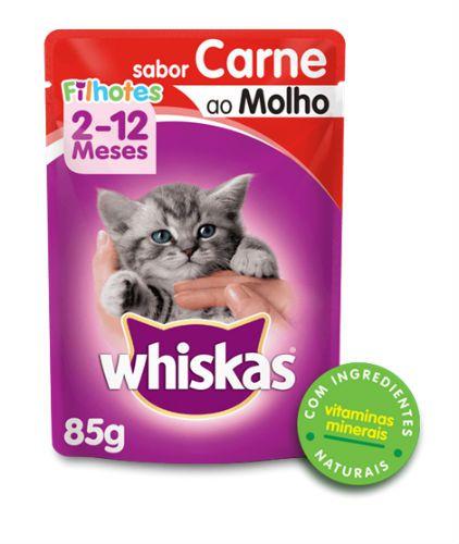 Alimento Úmido Whiskas para Gatos Filhotes