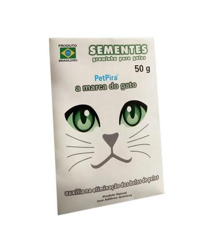 Sementes de Graminha para Gatos Petpira 50g