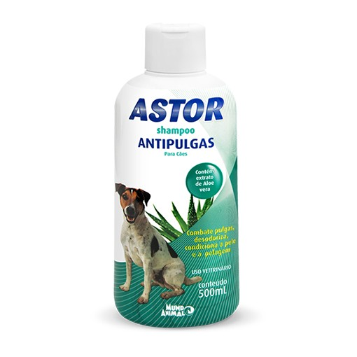 Shampoo Astor para Cães Antipulgas - 500ml