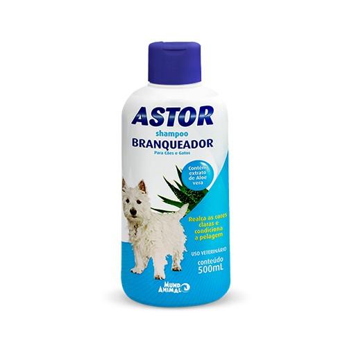 Shampoo Astor para Cães Branqueador - 500ml