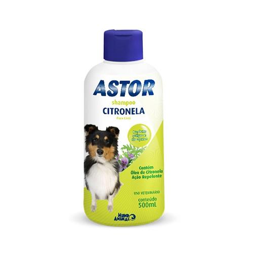 Shampoo Astor para Cães Citronela - 500ml