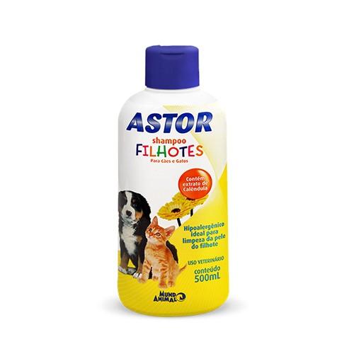 Shampoo Astor para Cães Filhotes - 500ml