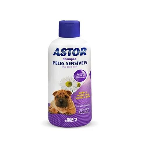 Shampoo Astor para Cães Peles Sensíveis - 500ml