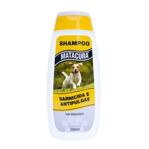Shampoo Matacura Sarnicida Antipulgas - 200ml